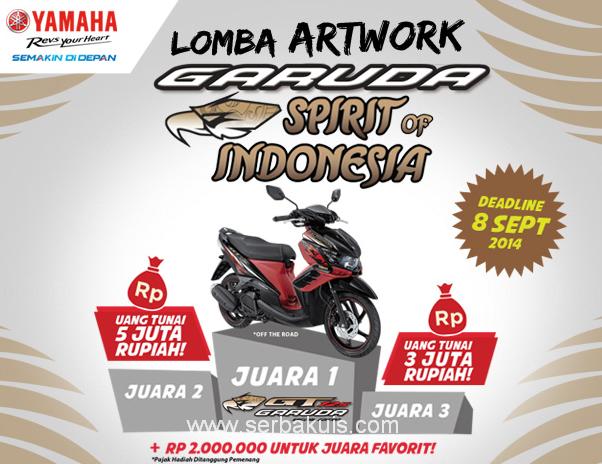 Kontes Desain Artwork Garuda Berhadiah Motor Yamaha GT125